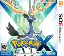 Pokemon X Version Box Art