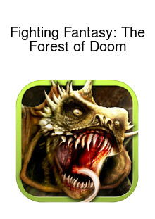 Fighting Fantasy: The Forest of Doom Box Art