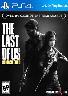 The Last of Us: Remastered Box Art