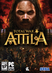 Total War: Attila Box Art