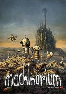 Machinarium Box Art