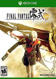 Final Fantasy Type-0 HD Box Art