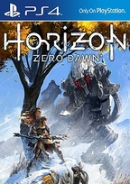 Horizon Zero Dawn Box Art
