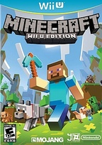 Minecraft: Wii U Edition Box Art