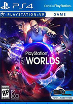PlayStation VR Worlds Box Art