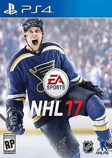 NHL 17 Box Art