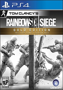 Tom Clancy's Rainbow Six Siege Gold Edition Box Art