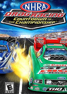 NHRA: Countdown to the Championship 2007 Box Art