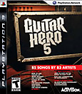 Guitar Hero 5 (Game Only) Box Art