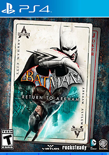 Batman: Return to Arkham Box Art
