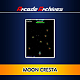 Arcade Archives MOON CRESTA Box Art