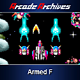 Arcade Archives Armed F Box Art