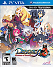 Disgaea3: Absence of Detention Box Art
