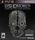 Dishonored Game of the Year Edition Box Art