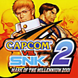Capcom vs. SNK2: Mark of the Millennium 2001 Box Art