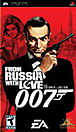 007: From Russia With Love Box Art