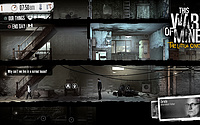 This War of Mine : The Little Ones PS4 Screenshot