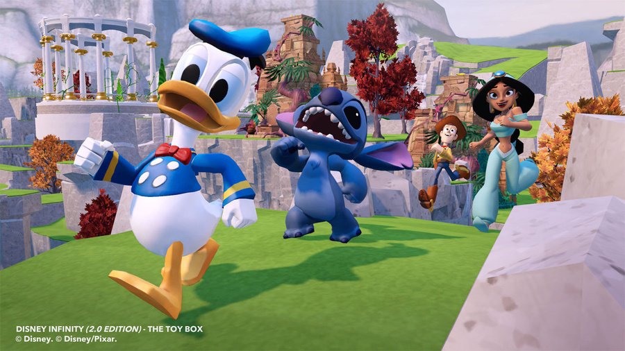 Disney Infinity: Toy Box Starter Pack (2.0 Edition) Screenshot #1