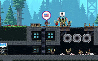 Broforce PS4 Screenshot