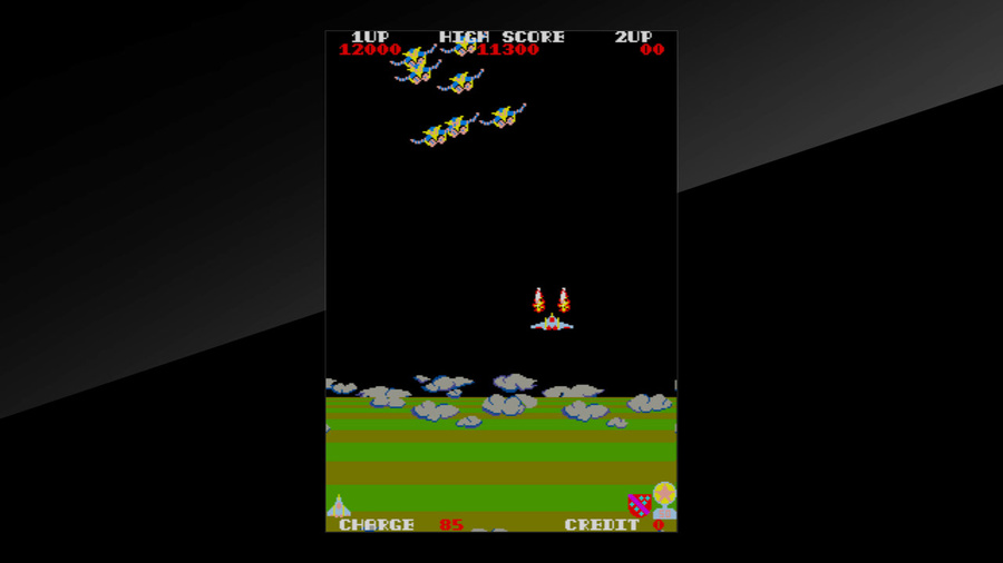 Arcade Archives EXERION Screenshot #6
