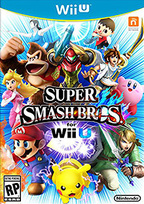 Super Smash Bros. for Wii U Box Art