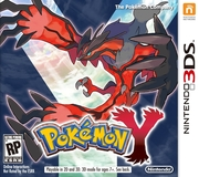 Pokemon Y Version Box Art