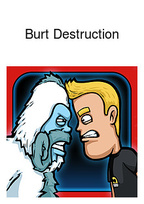 Burt Destruction Box Art