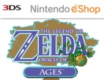 The Legend of Zelda: Oracle of Ages Box Art