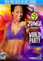 Zumba Fitness World Party Box Art