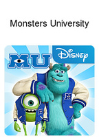 Monsters University Box Art
