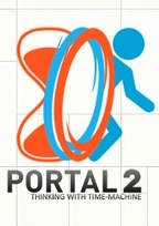 Portal 2: Thinking with Time Machine Box Art
