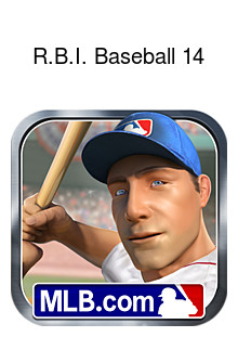R.B.I. Baseball 14 Box Art