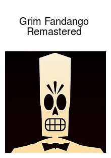 Grim Fandango Remastered Box Art