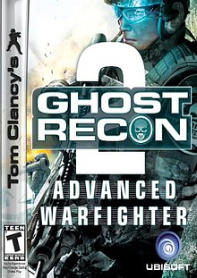 Tom Clancy's Ghost Recon Advance Warfighter 2 Box Art
