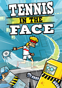 Tennis in the Face Box Art