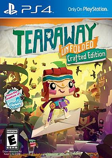 Tearaway Unfolded Box Art