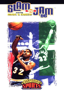 Slam 'n Jam 96 Box Art
