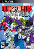 TRANSFORMERS: Devastation Box Art