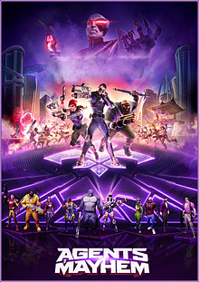 Agents of Mayhem Box Art