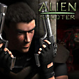 Alien Shooter Box Art