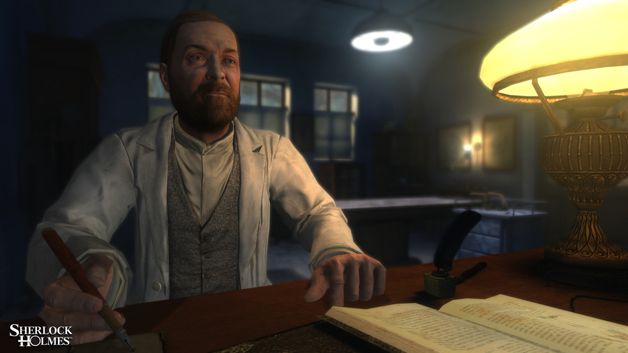 The Testament of Sherlock Holmes Screenshot #2