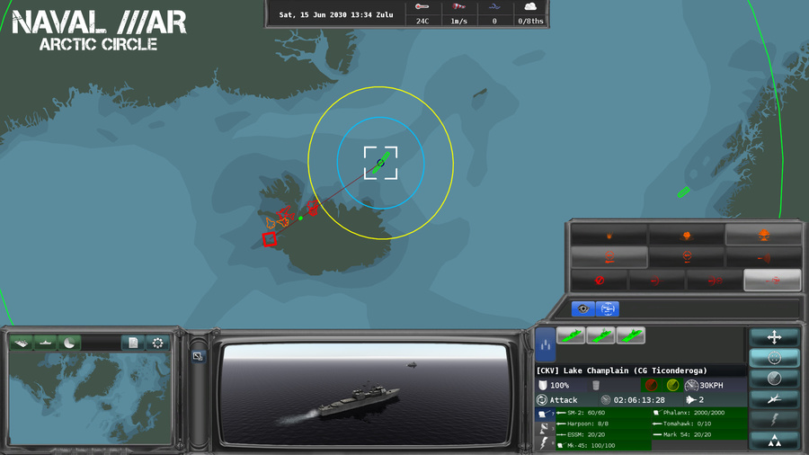 Naval War: Arctic Circle Screenshot #6
