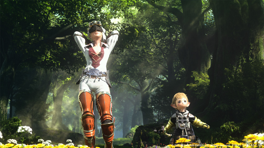 Final Fantasy XIV Online: A Realm Reborn Screenshot #2