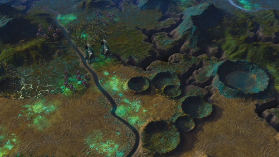 Sid Meier's Civilization: Beyond Earth Screenshot #2