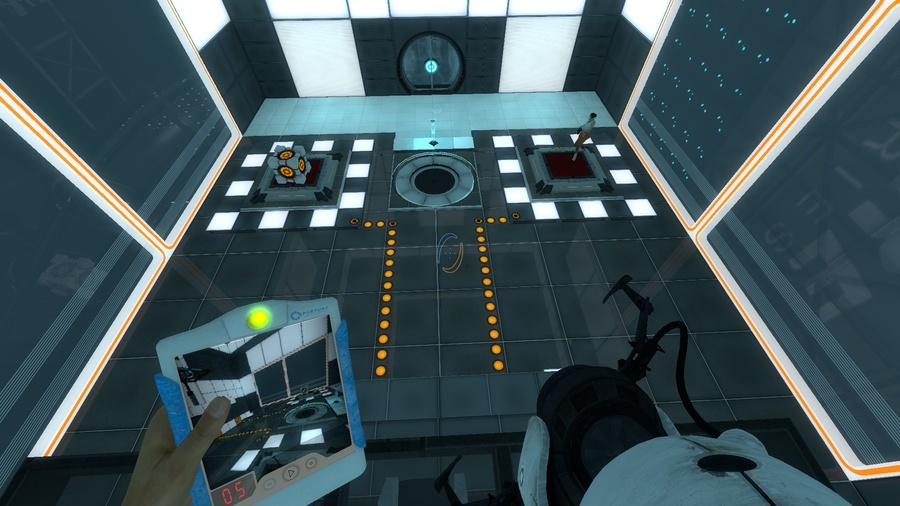 Portal 2: Thinking with Time Machine Screenshot #2