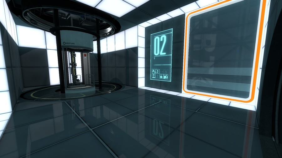 Portal 2: Thinking with Time Machine Screenshot #1