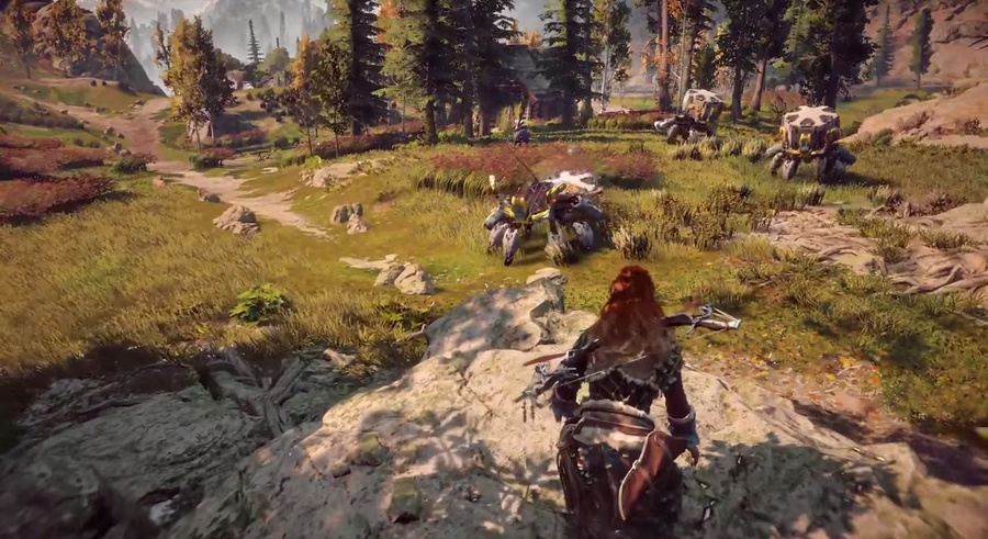 Horizon Zero Dawn Screenshot #1