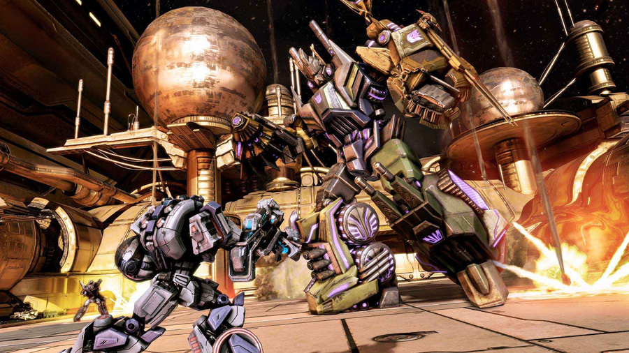 Transformers: Fall of Cybertron Screenshot #4