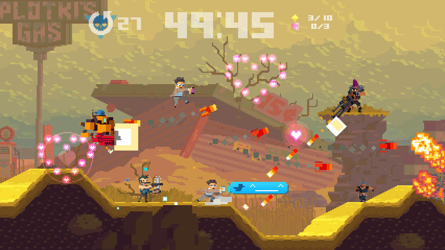 Super Time Force Ultra Screenshot #1