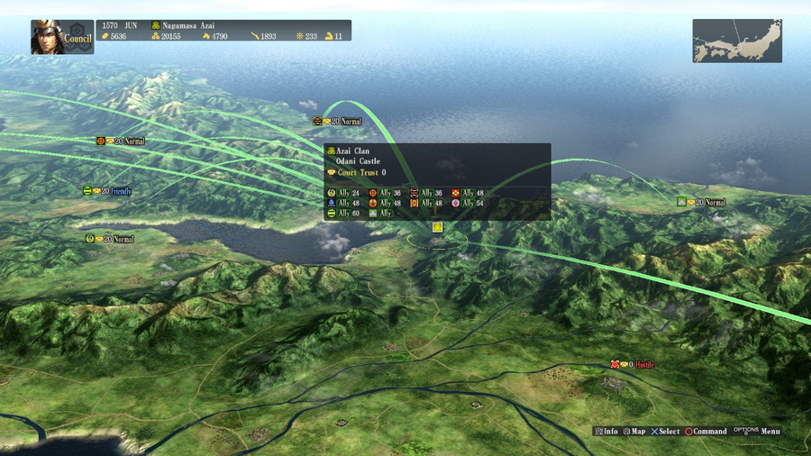 NOBUNAGA'S AMBITION: Sphere of Influence Screenshot #9